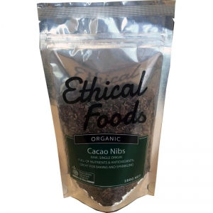 Ethical Foods - Cacao Nibs Organic Raw 160g