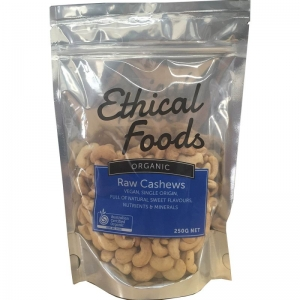 Ethical Foods - Organic Raw Cashews