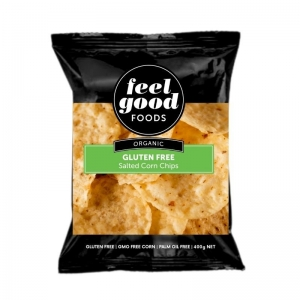 Feel Good Foods - Organic Salted Gluten Free Corn Chips