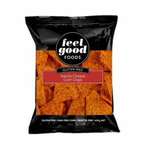 Feel Good Foods - Natural Nacho Cheese Corn Chips
