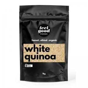 Feel Good Foods - *NEW* Organic White Quinoa Grain 1kg