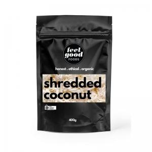 Feel Good Foods - *NEW* Organic Shredded Coconut 400g