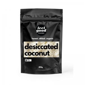 Feel Good Foods - *NEW* Organic Desiccated Coconut 400g