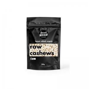 Feel Good Foods - *NEW* Organic Raw Cashews 250g