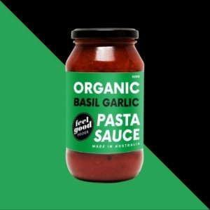 Feel Good Foods Basil & Garlic Pasta Sauce