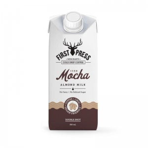 First Press - Mocha RTD Almond Milk 350ml x 12 (Carton)