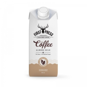First Press - Iced Coffee RTD Almond Milk 350ml x 12