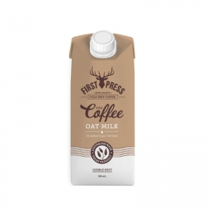 First Press - OAT MILK Iced Coffee RTD 350ml x 12 (Carton)