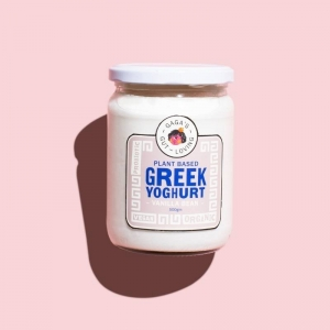 Gaga Fermented - *NEW* Vanilla Greek Yogurt 500g x 6 (Carton) Refrigerated