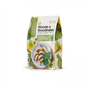 House of Goodness - Chicken & Lemongrass Dumplings 285g x 6 (12pcs) (Carton)