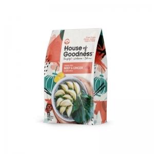 House of Goodness - Beef & Ginger Dumplings 285g x 6 (Carton)