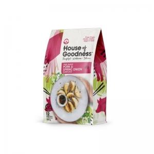 House of Goodness - Pork & Spring Onion Dumplings 285g x 6 (Carton)