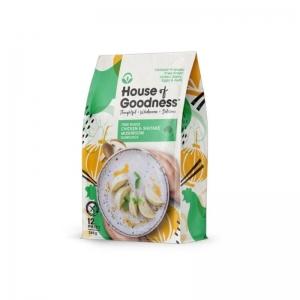House of Goodness - NEW Chicken & Shiitake Mushroom Dumplings FODMAP 285g x 6 (C
