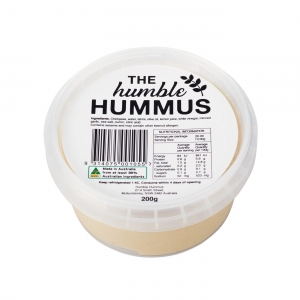 Humble Hummus - Natural Hummus 200g x 6 (Carton)