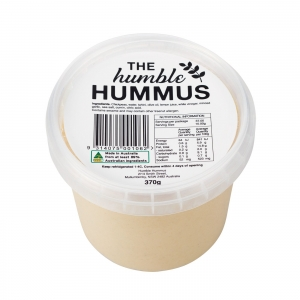 Humble Hummus - Natural Hummus 370g x 6 (Carton)