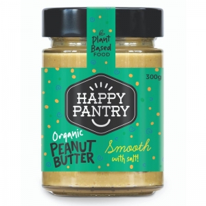 Happy Pantry - Peanut Butter Salted Organic Smooth
