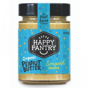 Happy Pantry - Peanut Butter Unsalted Organic Smooth