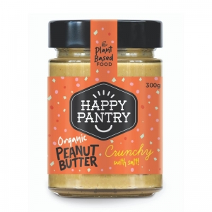 Happy Pantry - Peanut Butter Salted Organic Crunchy
