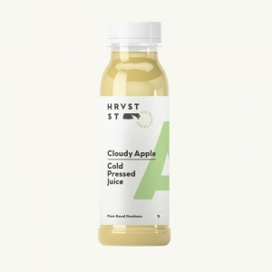 Hrvst St - Cloudy Apple Cold Press Juice 1L