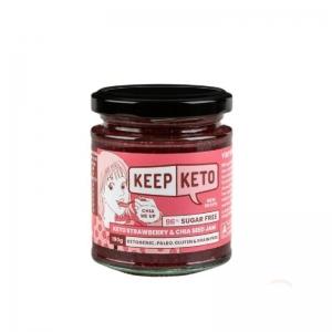 Keep Keto - *NEW* Strawberry & Chia Seed Jam 190g (D400)