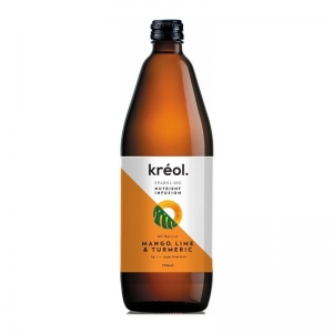 Kreol - *NEW* Nutrient Infusion Mango, Lime & Turmeric 750ml x 6 (Refrigerated P