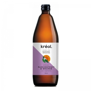 Kreol - *NEW* Nutrient Passion & Orange 750ml x 6 (Refrigerated Product) (Carton