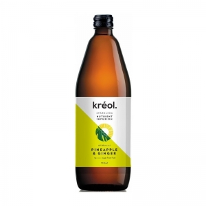 Kreol - *NEW* Nutrient Pineapple, Ginger 750ml x 6 (Refrigerated Product) (Carto