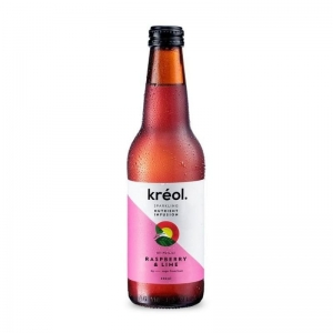Kreol - Raspberry & Lime 330ml x 12 (Refrigerated