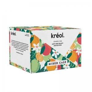 Kreol - Antioxidant INTRO MIXED BOX 330ml x 12 (Carton)