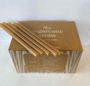 LGP - F/SERV Sugar Cane JUMBO Straw 12mmx210mm (LGP-SC12) 150pcs