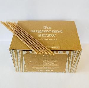 LGP - F/SERV Sugar Cane REGULAR Straw 6mm x 210mm (LGP-SC6) 500pcs