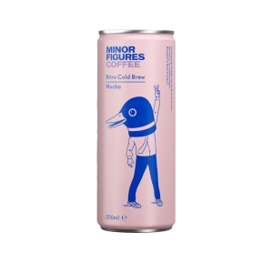 Minor - Nitro Cold brew Mocha 200ml x 12 (Carton)