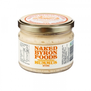 Naked Byron Smoked Paprika Hummus 270g x 6 - Pemco