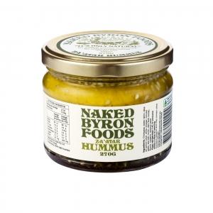 Naked Byron Harissa Hummus 270g x 6 - Pemco Agencies Pty Ltd