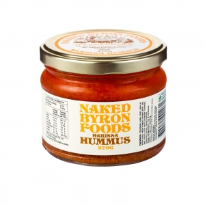 Naked Byron - *NEW* Hummus 270g x 6 (Carton) - Feel Good Foods