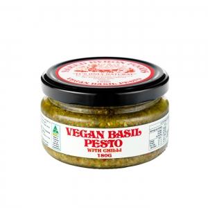 Naked Byron - *NEW* Vegan Basil Pesto CHILLI Flavour 180g x 6 (Carton)