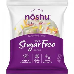 Noshu - Donut Birthday Cake