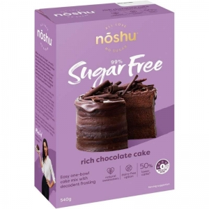 Noshu -  Rich Chocolate Cake Mix 540g x 4