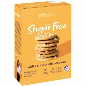 Noshu - White Choc Vanilla Cookie Mix 300 x 5 (Carton)