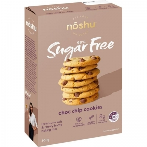 Noshu - Dark Choc Chip Cookie Mix 300g x 5 (Carton)