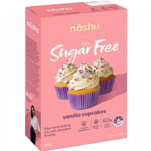 Noshu - Vanilla Cupcake Mix 350g x 5 (Carton)