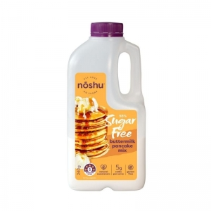 Noshu - Pancake Mix BUTTERMILK SUGAR FREE 240g x 6 (Carton) (F10029)