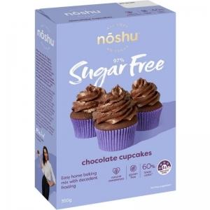 Noshu - Chocolate Cupcake Mix 350g x 5 (Carton)