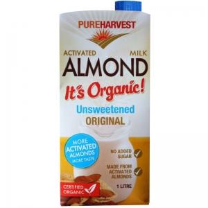 Pure Harvest - Organic Almond Milk Unsweetened