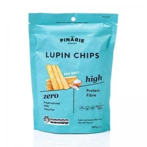 Pinarie Lupin Chips - Sea Salt 100g x 12 (Carton)