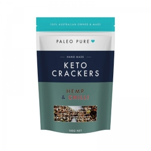 Paleo Pure - Keto Crackers Hemp & Chilli