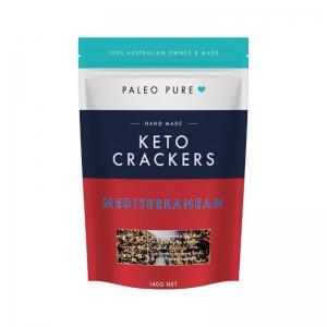 Paleo Pure - Keto Crackers Mediterranean
