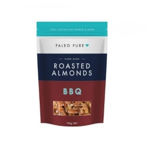 Paleo Pure - *NEW* Roasted Almonds BBQ 12 x 100g  (carton)