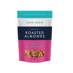 Paleo Pure - *NEW* Roasted Almonds Salt & Vinegar 12 x 100g  (carton)