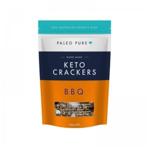 Paleo Pure - *NEW* Keto Crackers *BBQ* 140g x 6 (carton)